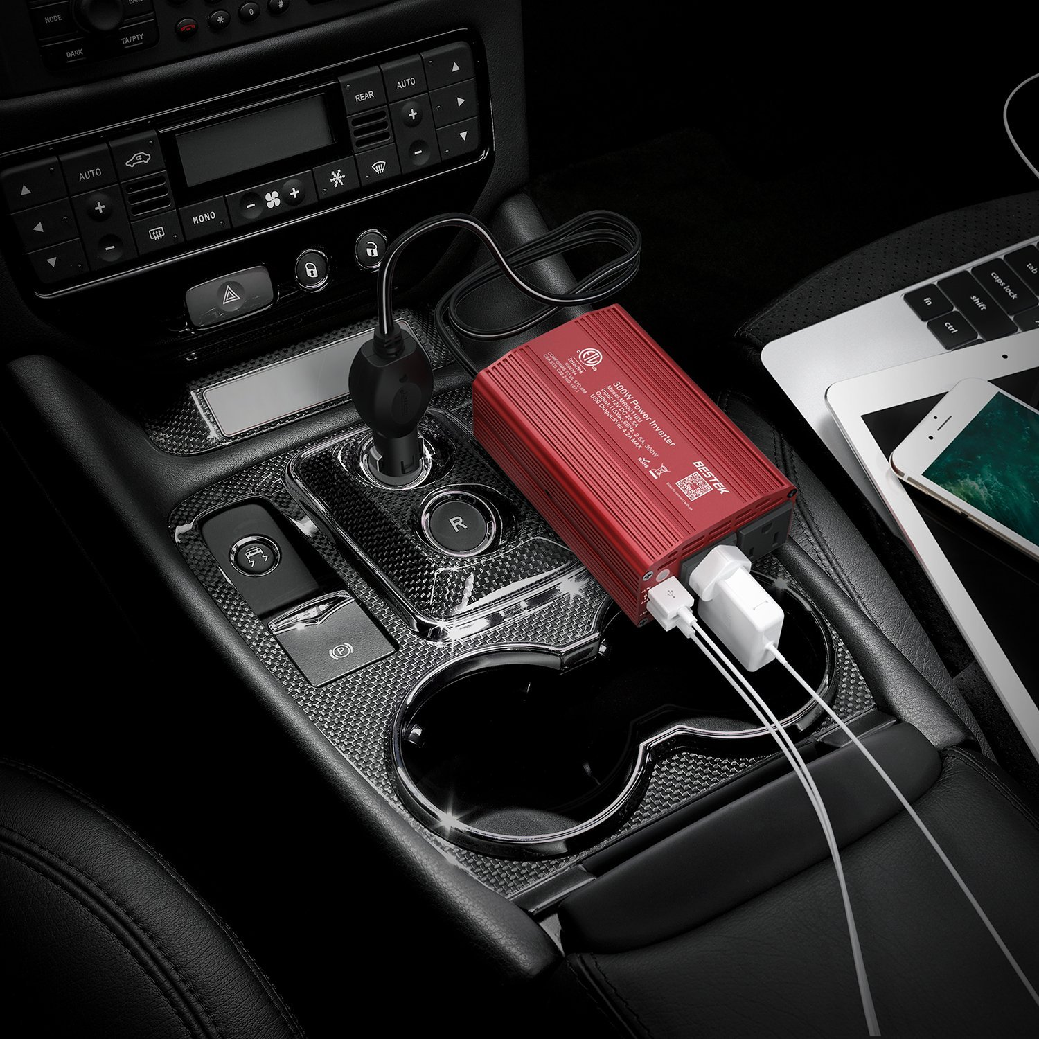 This $30 box lets you plug in a phone, laptop, or even a TV in your car
